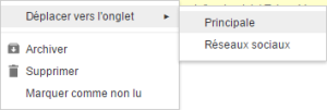 gmail deplacement