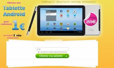 android 1€