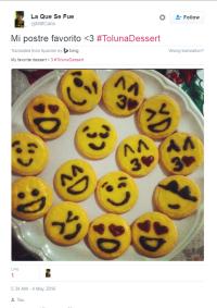 Twitter Toluna Dessert Winner