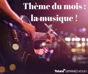 Thème du mois - la musique !