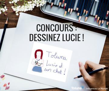 concours _ dessinez Lucie !